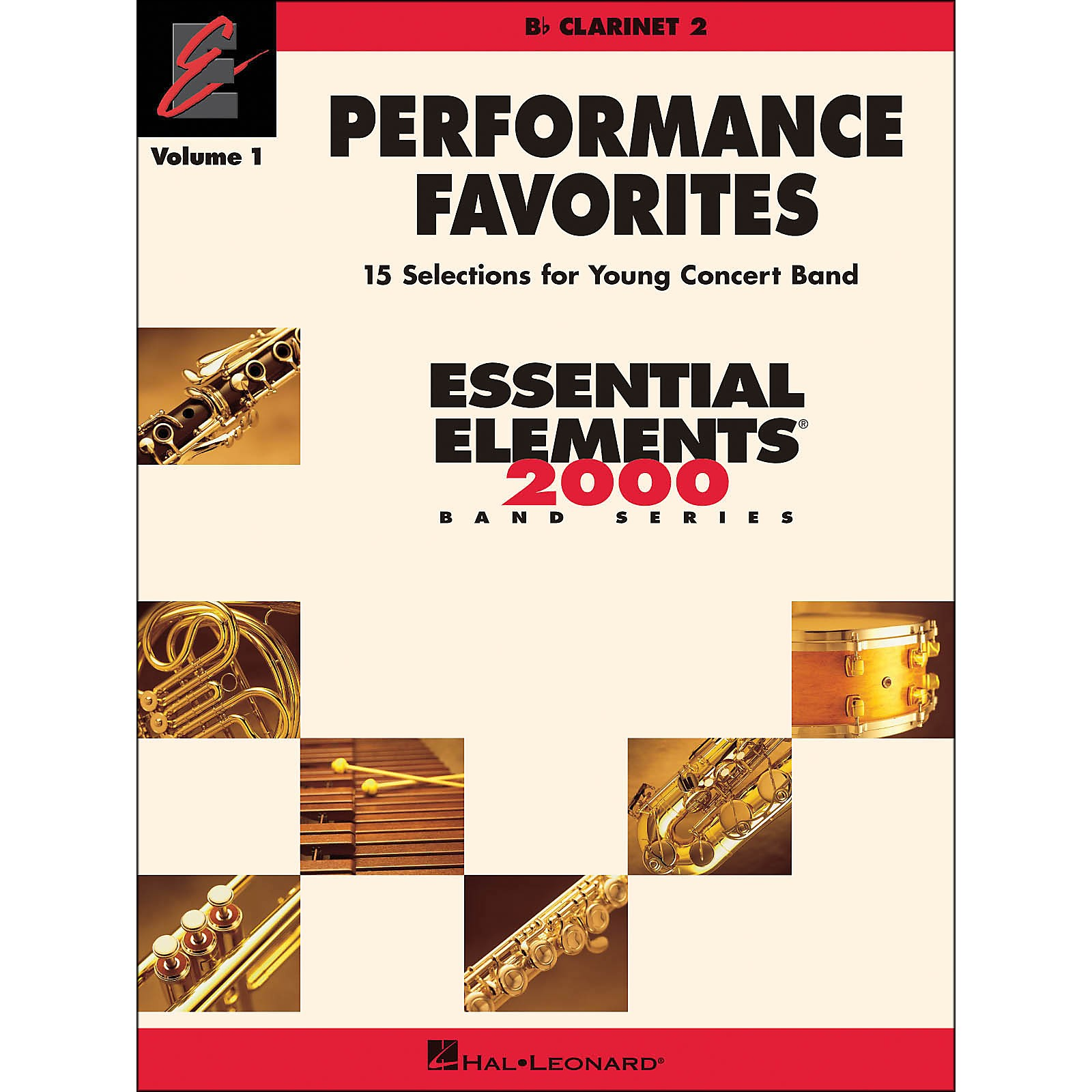 Hal Leonard Performance Favorites Volume 1 Clarinet 2