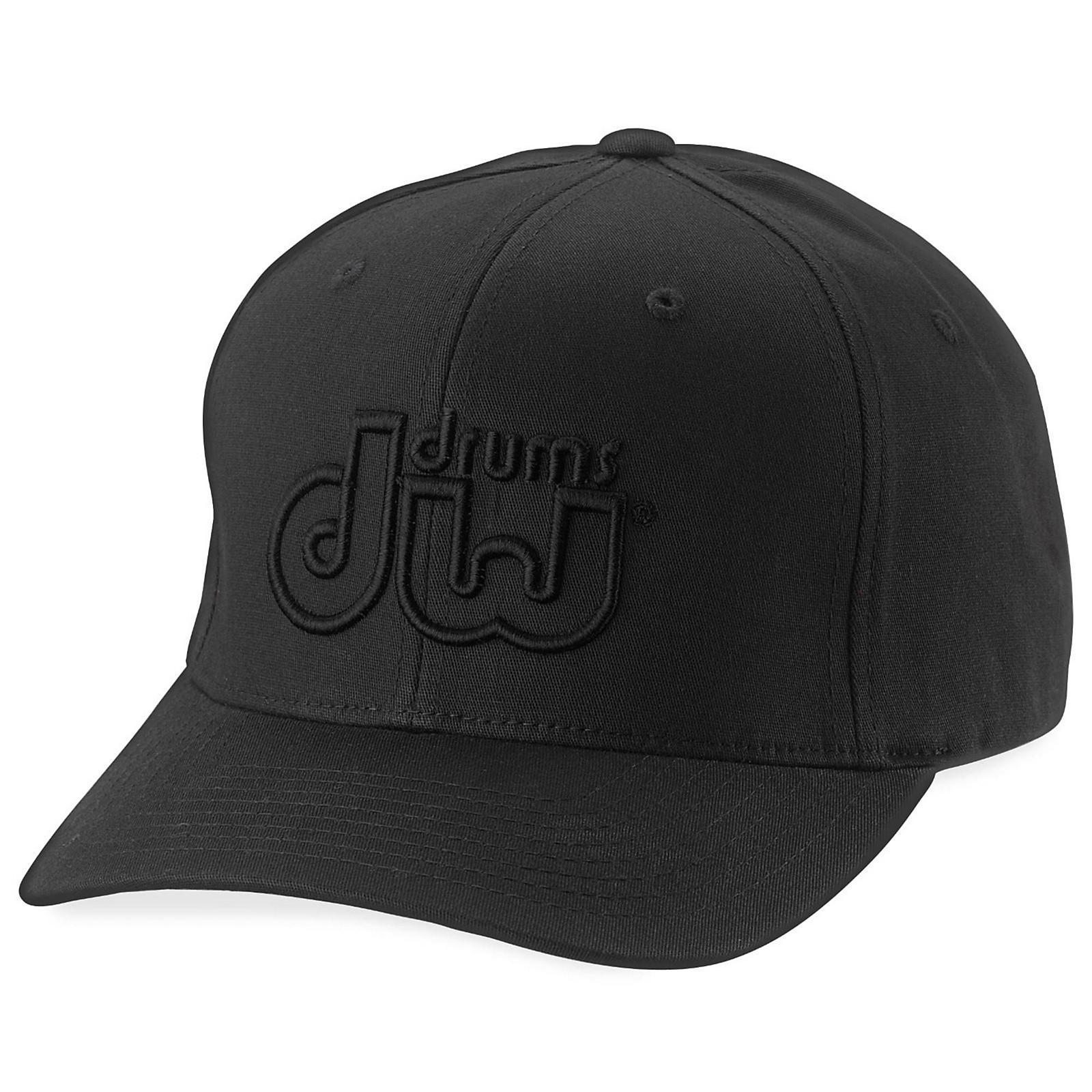 DW Performance Hat Black On Black Small/Medium