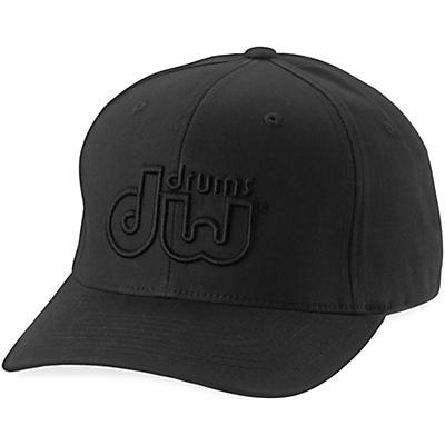 DW Performance Hat Black on Black Large/Xlarge
