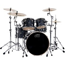 Performance Series 5-Piece Shell Pack Black Diamond Finish with Chrome Hardware