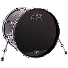 Performance Series Bass Drum Gun Metal Metallic Lacquer 16x20