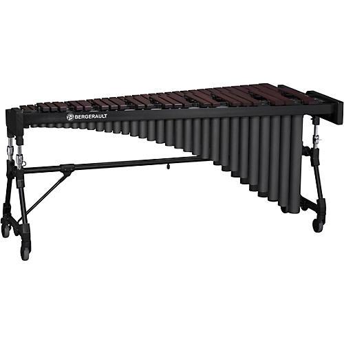 Bergerault Performance Series Concert Marimba, 4.3 Octaves, Padauk Bars 4.3 Octave Concert Frame