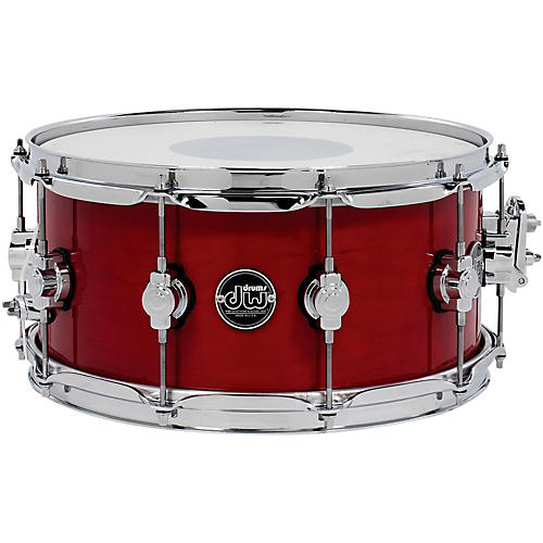 DW Performance Series Snare Drum 14 x 6.5 in. Candy Apple Lacquer