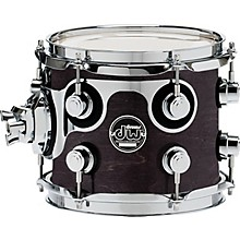 Performance Series Tom 7 x 8 Ebony Stain Lacquer