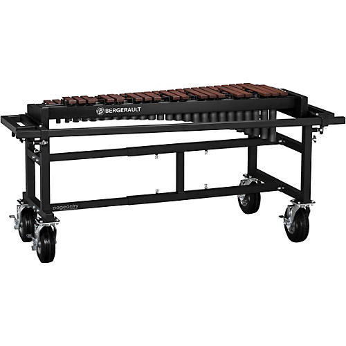 Bergerault Performance Series Xylophone with Field Cart 3.5 Octave Field Frame
