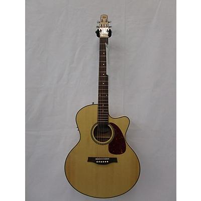 Seagull Performer Cw Mini Jumbo Acoustic Electric Guitar