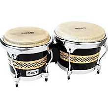 Performer Series Bongos with Chrome Hardware Black/Natural