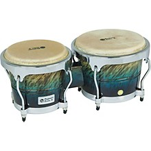 Performer Series Bongos with Chrome Hardware Blue Fade