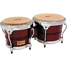 Performer Series Bongos with Chrome Hardware Dark Wood