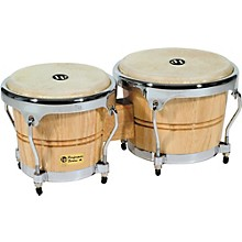 Performer Series Bongos with Chrome Hardware Natural