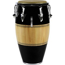 Performer Series Conga with Chrome Hardware 12.5 in. Tumba Black/Natural