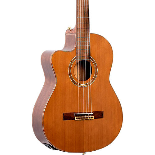 Ortega Performer Series RCE159MN-L Acoustic Electric Left-Handed Classical Guitar Natural