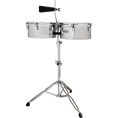 LP Performer Timbale Set with Chrome Hardware