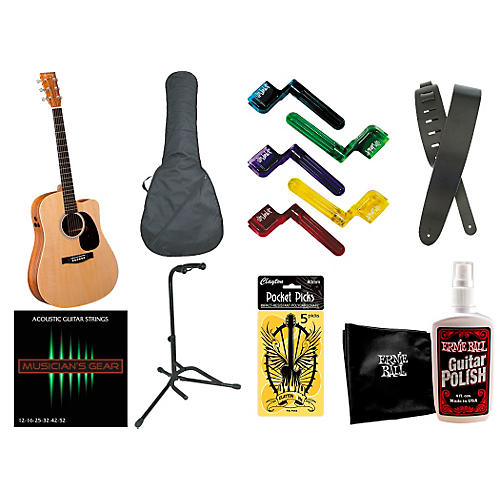Martin Performing Artist Series 2015 DCPA5K Acoustic-Electric Guitar Bundle