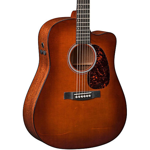 Martin Performing Artist Series DCPA4 Shaded Top Cutaway Dreadnought Acoustic-Electric Guitar