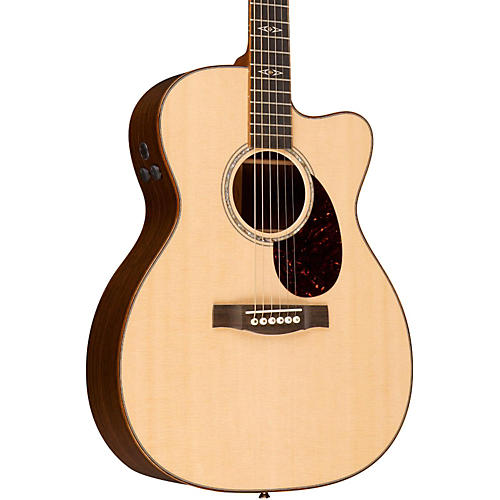 martin performing artist series omcpa1 plus cutaway orchestra model acoustic electric guitar. Black Bedroom Furniture Sets. Home Design Ideas