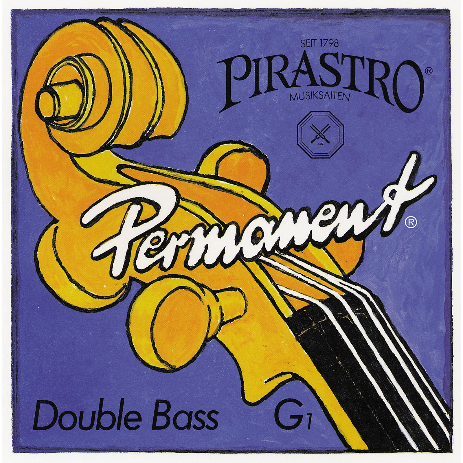 Pirastro Permanent Series Double Bass E String