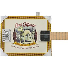 Lace Pero Pup Acoustic-Electric Cigar Box Guitar