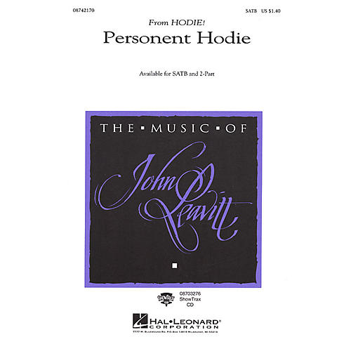 Hal Leonard Personent Hodie (from Hodie!) 2-Part Arranged by John Leavitt
