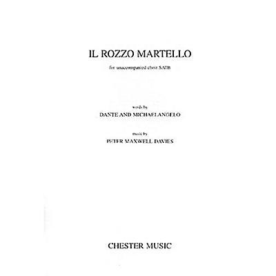 Music Sales Peter Maxwell Davies: Il Rozzo Martello SATB