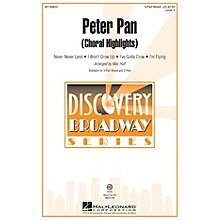 Hal Leonard Peter Pan (Choral Highlights Discovery Level 2) 3-Part Mixed arranged by Mac Huff