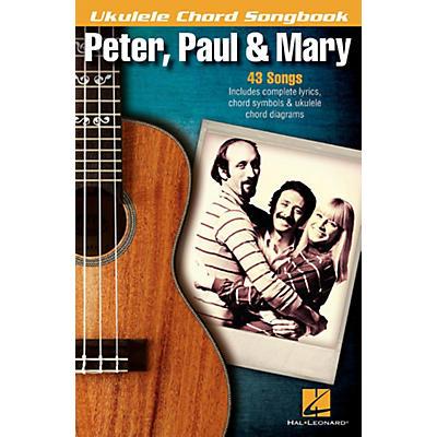 Hal Leonard Peter, Paul & Mary  Ukulele Chord Songbook