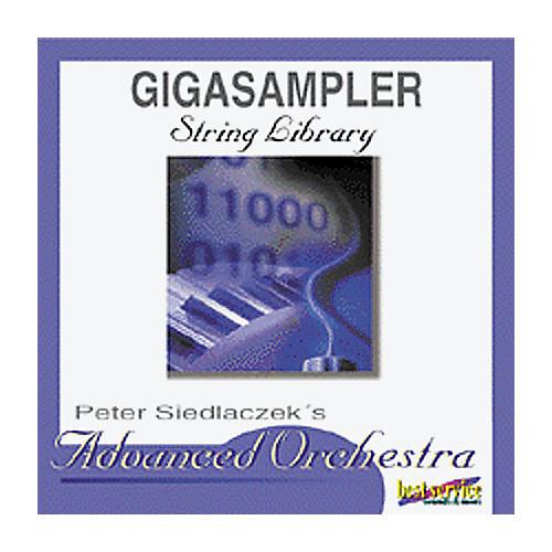 EastWest Peter Siedlaczek Advanced Orchestra Strings Sampler CD for GigaStudio