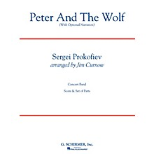 G. Schirmer Peter and the Wolf Concert Band Level 3 Composed by Sergei Prokofiev Arranged by James Curnow