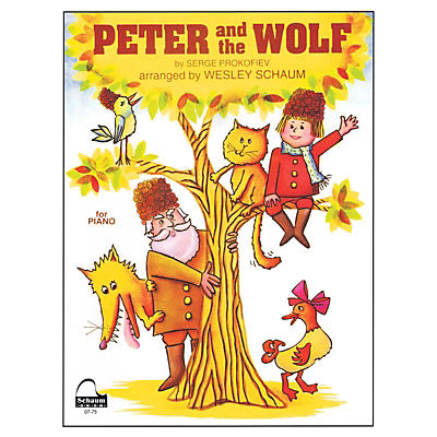 SCHAUM Peter and the Wolf Educational Piano Series Softcover