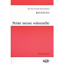 Novello Petite Messe Solennelle (Vocal Score) SATB Composed by Gioachino Rossini