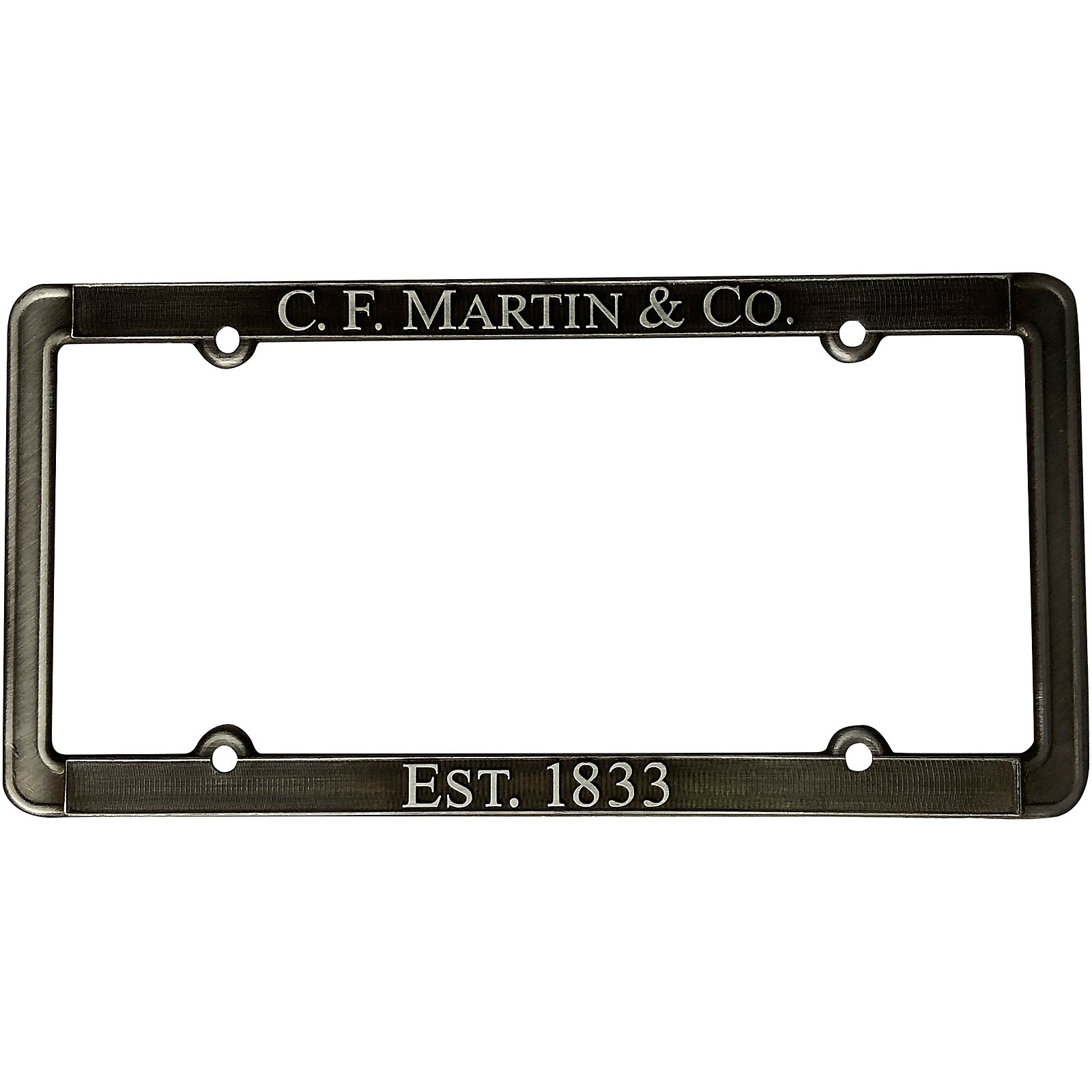 Martin Pewter License Plate Frame