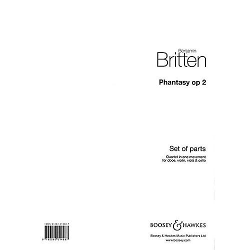 Boosey and Hawkes Phantasy Quartet, Op 2 Boosey & Hawkes Chamber Music Series by Benjamin Britten