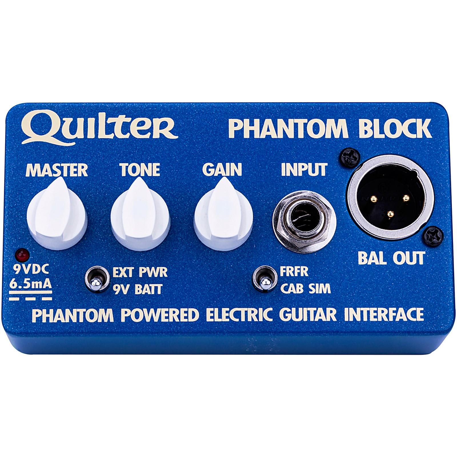 Quilter Labs Phantom Block Electric Guitar Interface and DI