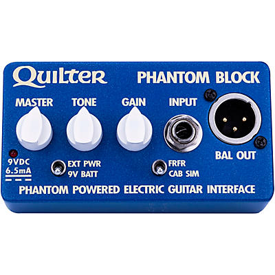 Quilter Labs Phantom Block Electric Guitar Interface and DI