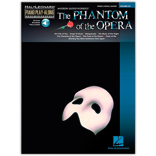 Hal Leonard Phantom Of The Opera - Piano Play-Along Volume 83 (Book/Online Audio)