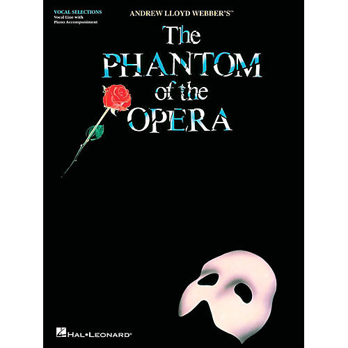 Hal Leonard Phantom Of The Opera - Vocal Selections (Voice With Piano Accompaniment)