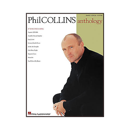 Hal Leonard Phil Collins Anthology Songbook