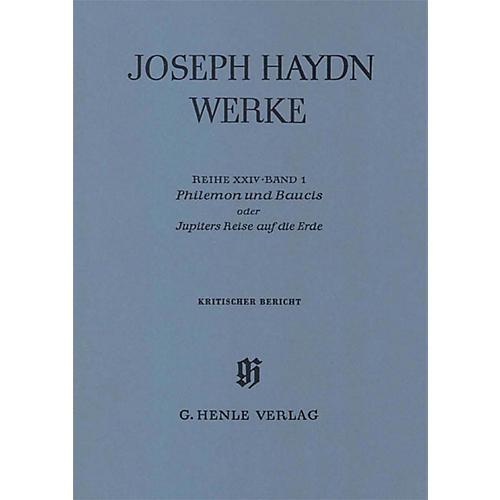 G. Henle Verlag Philemon and Baucis - A German Marionette Opera Henle Edition Series Hardcover