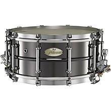 Philharmonic Brass Concert Snare Drum 14 x 6.5 in. Black Nickel