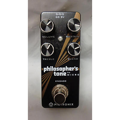 Pigtronix Philosophers Tone Micro Effect Pedal