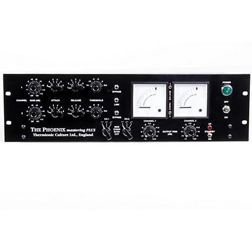 Thermionic Culture Phoenix Mastering Plus Blackface Master Plus Stereo Tube Compressor