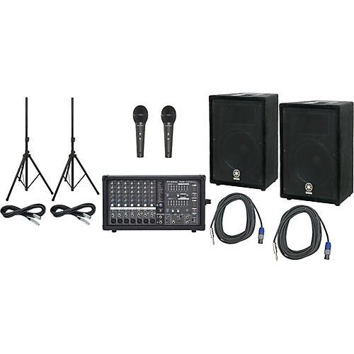 Yamaha Phonic 740 / Yamaha A12 PA Package