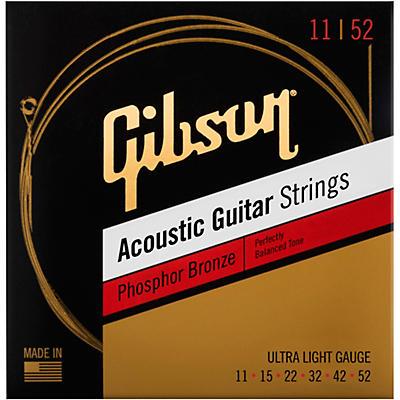 Gibson Phosphor Bronze Acoustic Guitar Strings