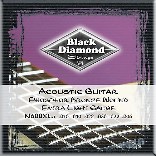 Black Diamond Phosphor Bronze Acoustic Guitar Strings