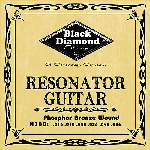 Black Diamond Phosphor Bronze Resonator Guitar Strings
