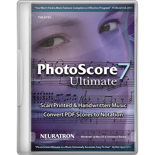 Sibelius PhotoScore Ultimate 7
