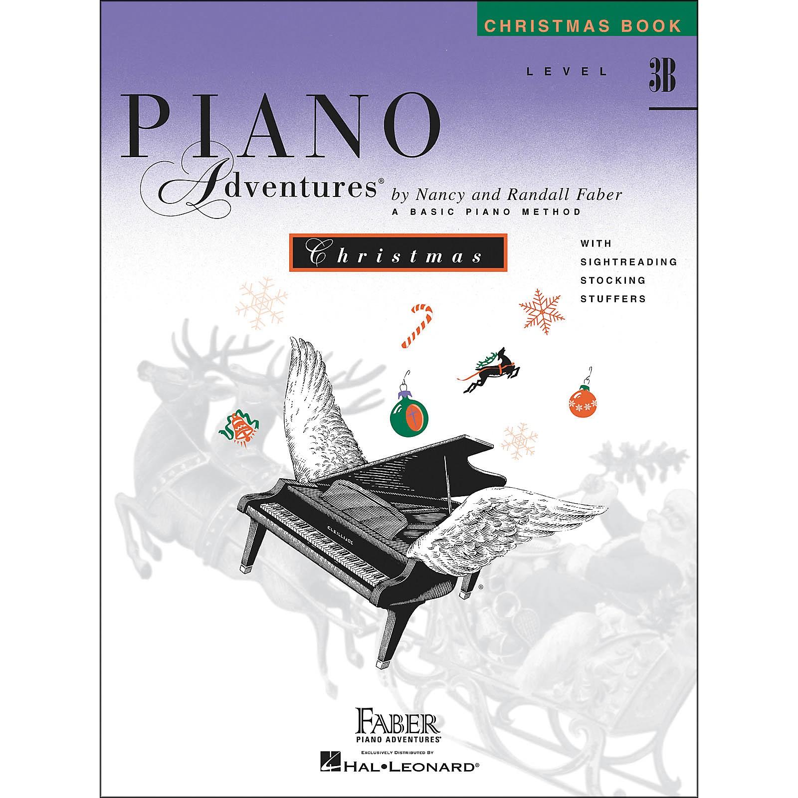 Faber Piano Adventures Piano Adventures Christmas Book Level 3B - Faber Piano