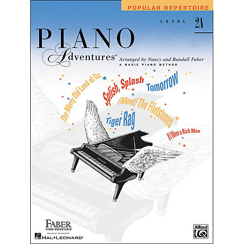 Faber Piano Adventures Piano Adventures Popular Repertoire Level 2A - Faber Piano