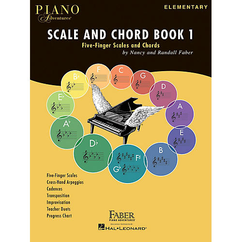 Faber Piano Adventures Piano Adventures Scale and Chord Book 1 Faber Piano Adventures® Series Softcover Written by Randall Faber