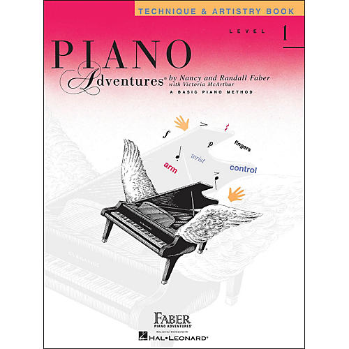 Faber Piano Adventures Piano Adventures Technique & Artistry Book Level 1